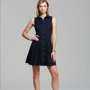 Theory Size 0 Navy Blue Geniada Luxe Dress